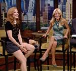 Jessica Chastain Legs Shorts Live With Kelly