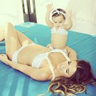 Jessie James Decker Bikini Baby