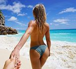 Julianne Hough Bikini Brooks Laich Honeymoon 4