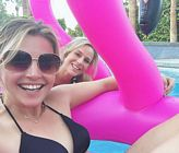 Julie Benz Clare Kramer Bikini Palm Springs 4