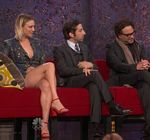 Kaley Cuoco Legs James Burrows Tribute