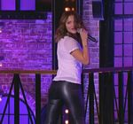 Katharine McPhee Leather Pants Lip Sync Battle