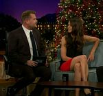 Katie Holmes Legs Late Late Show