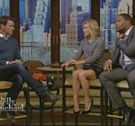 Kelly Ripa Leather Skirt Live