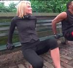 Kelly Ripa Workout Ny Street
