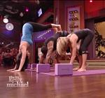 Kelly Ripa Yoga Live 10