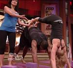 Kelly Ripa Yoga Live 11