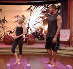 Kelly Ripa Yoga Live 1
