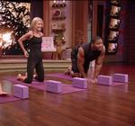 Kelly Ripa Yoga Live 2