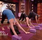 Kelly Ripa Yoga Live 4