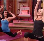 Kelly Ripa Yoga Live 5