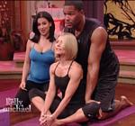 Kelly Ripa Yoga Live