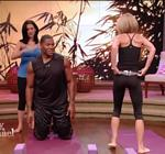 Kelly Ripa Yoga Live 8