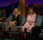 Kristen Bell Legs Late Late Show
