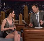 Kristen Stewart Legs Facebreakers Tonight Show