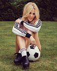 Kylie Minogue Legs Soccer Shorts 2