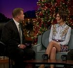 Lauren Cohan Skirt Late Late Show