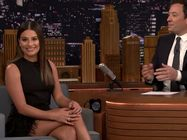 Lea Michele Tonight Show 2k17 9