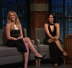 Lili Reinhart Camila Mendes Late Night