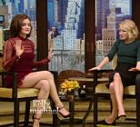 Lucy Hale Legs Live With Kelly
