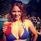 Maitland Ward Bikini Drinks