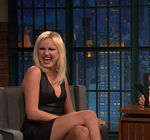 Malin Akerman Late Night Seth Meyers