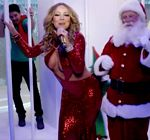 Mariah Carey Cleavage Christmas Special 1