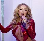 Mariah Carey Cleavage Christmas Special 5