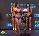 Miesha Tate Bikini UFC Weigh In