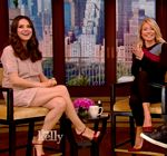 Mila Kunis Legs Live With Kelly