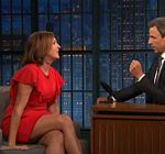 Molly Shannon Legs Late Night Meyers 1