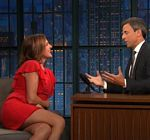 Molly Shannon Legs Late Night Meyers 2