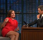 Molly Shannon Legs Late Night Meyers 3