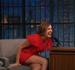 Molly Shannon Legs Late Night Meyers 5