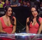 Nikki Brie Bella Twins Wwe Raw Ringside