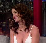 Robin Tunney Late Show Letterman