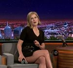 Rosamund Pike Legs Tonight Show