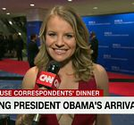 Sara Murray CNN White House Dinner 1