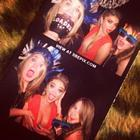 Sarah Hyland Birthday Party Red Gown