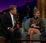 Sarah Hyland Legs Late Late Show