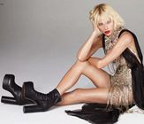 Taylor Swift Legs Silver Vogue 3