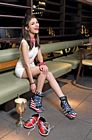 Victoria Justice Legs Bowling Shoot