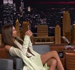 Zendaya Off Shoulder Tonight Show