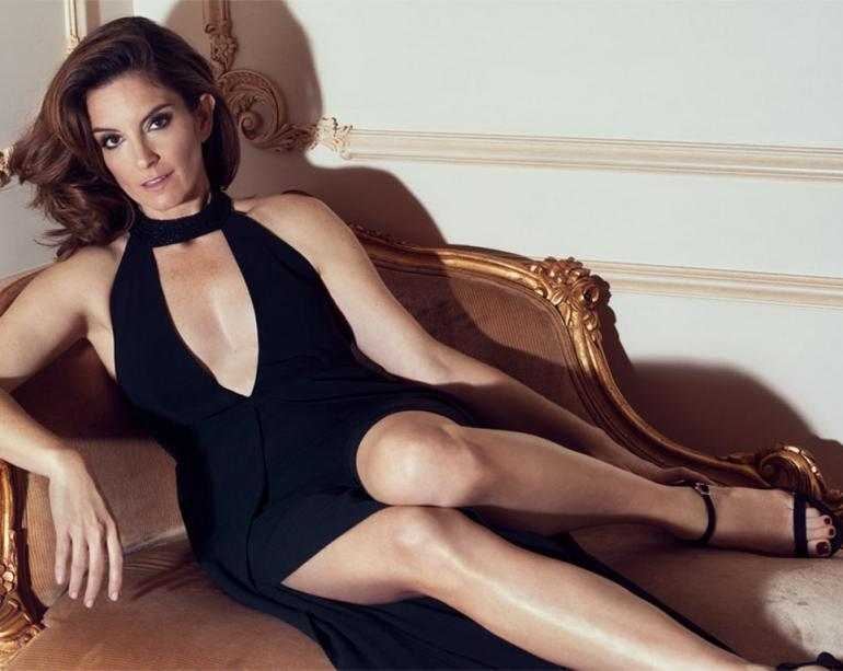 Pop minute tina fey legs gown edit magazine photos photo 2