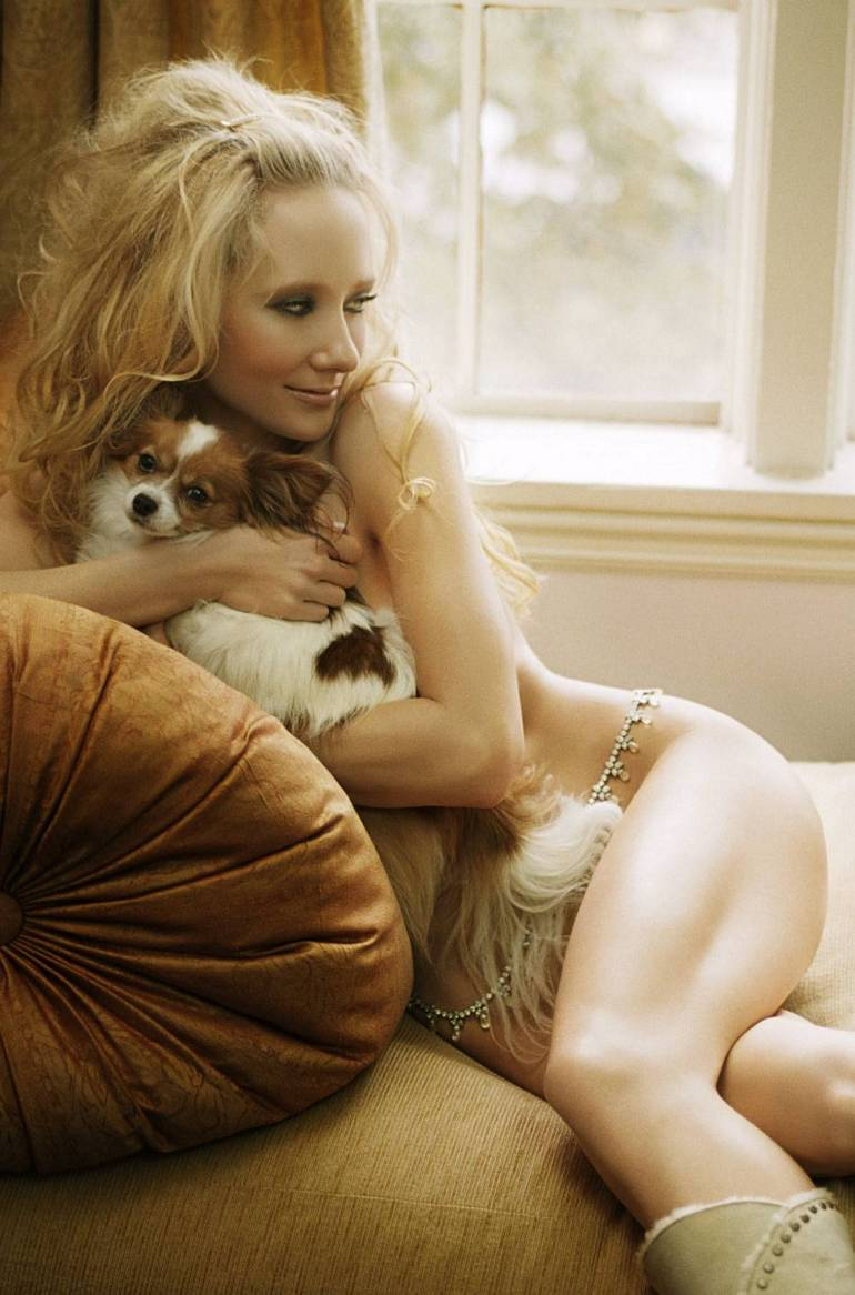 Nude anne heche