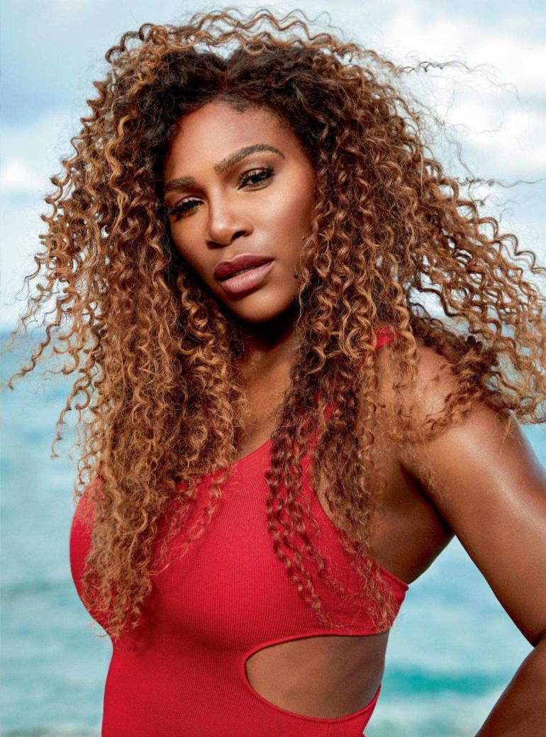 Serena Williams Swimsuit Bazaar