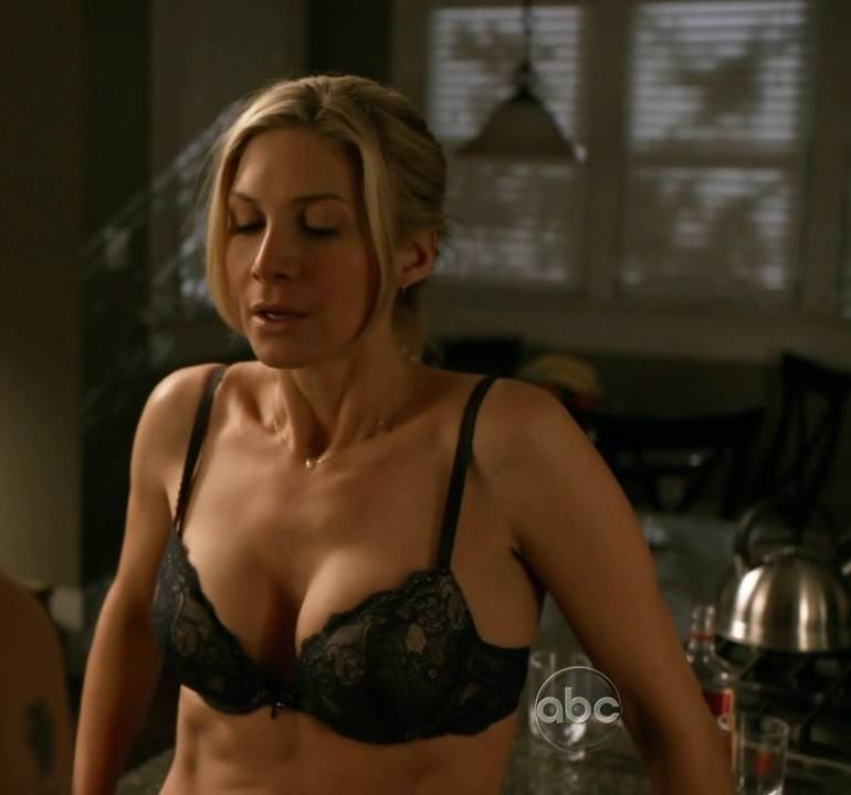 Pop Minute - Elizabeth Mitchell Bra V Photos - Photo 5
