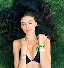 Madison Beer Bikini Golf Course Coachella 7