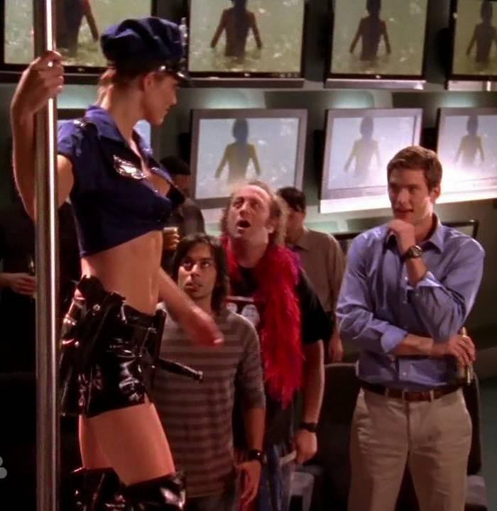 Pop Minute - Tricia Helfer Stripper Chuck Photos - Photo 6