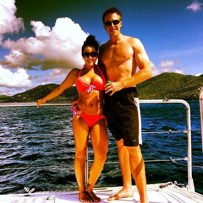 Pop Minute - Carly Patterson Bikini Bar Holiday Photos ... James Franco Allegations
